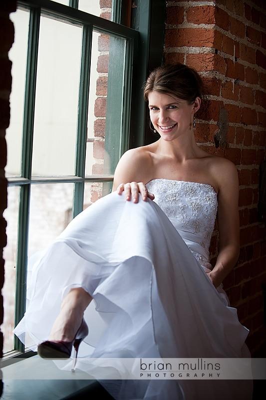 Urban Bridal Portrait