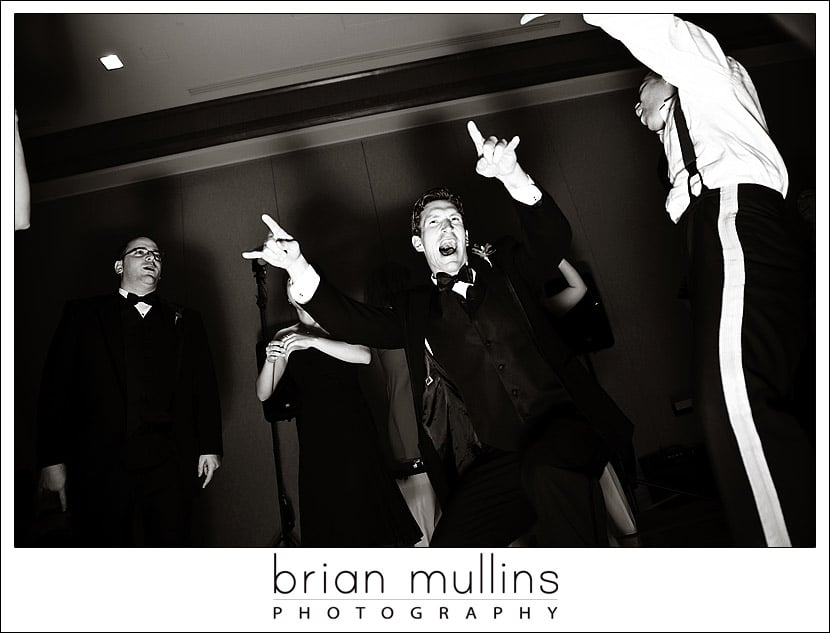 Dancing at the reception - Umstead Hotel