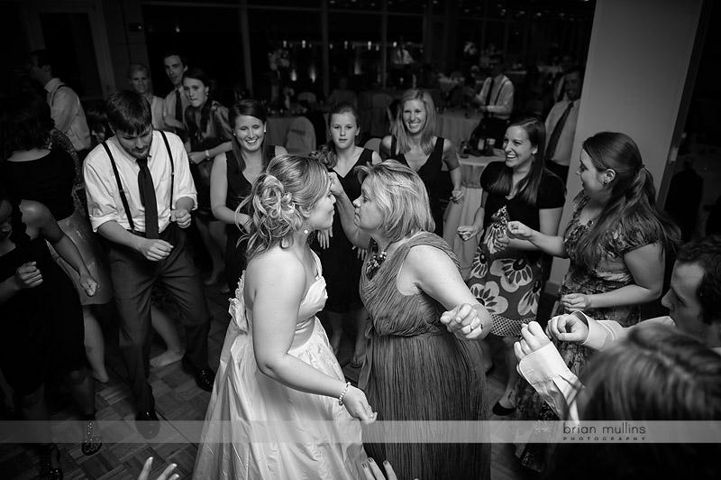 bride dancing at vaughn towers