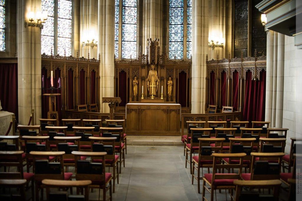memorial hall inside duke chapel