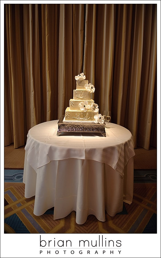 Wedding cake - Umstead Hotel in Cary, NC