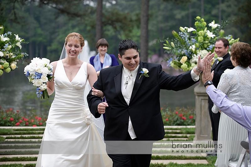 Umstead Hotel wedding on lawn