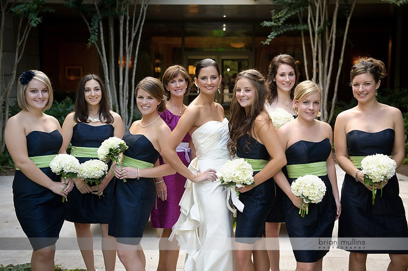 casual bridesmaid wedding portrait