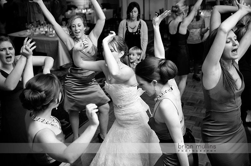 wedding reception at washington duke inn