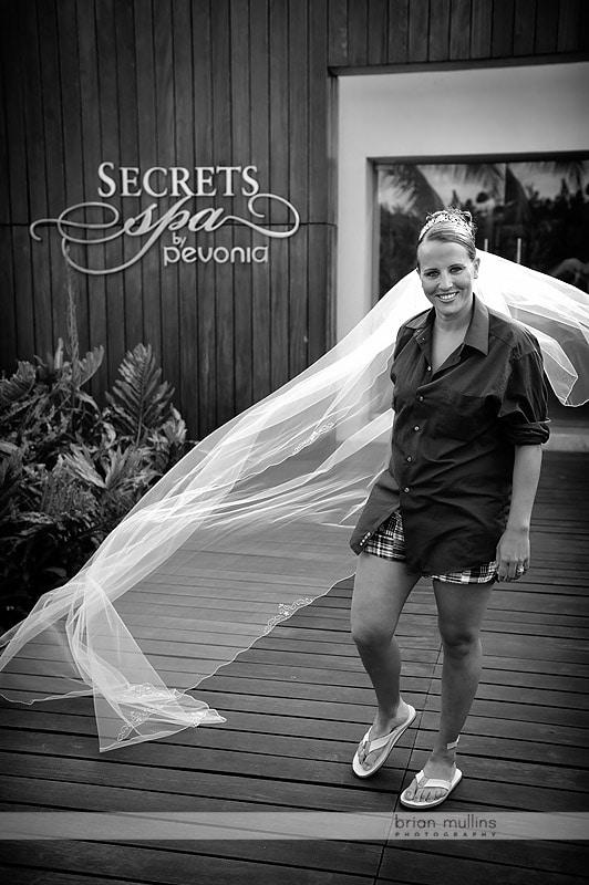 secrets capri resort wedding photo