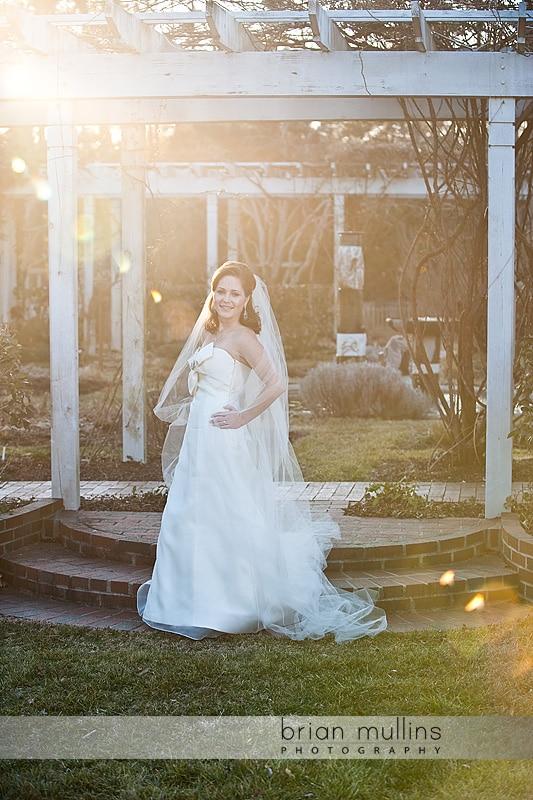 Fearrington house bridal photography