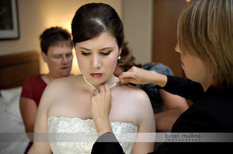weding day pearls