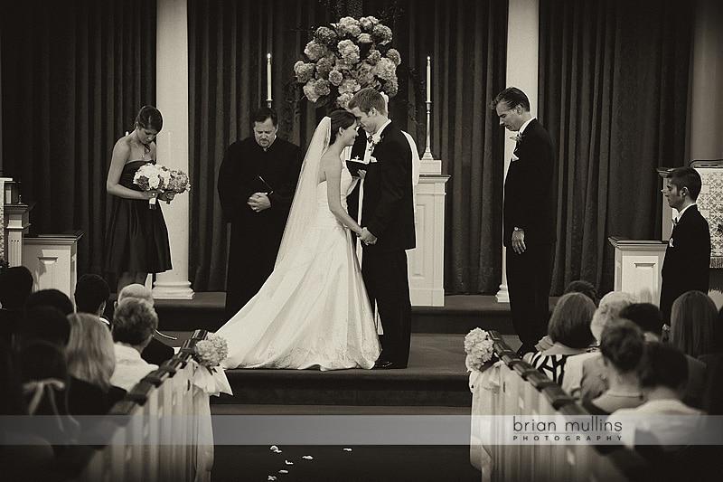 wake chapel wedding ceremony
