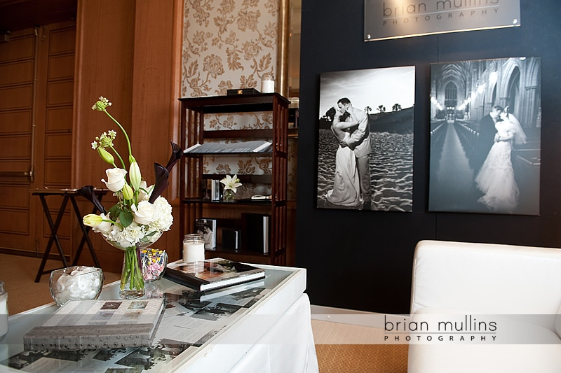 Raleigh wedding photographer exhibits at the Umstead Hotel