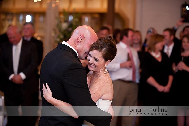 dancing at fearrington wedding reception