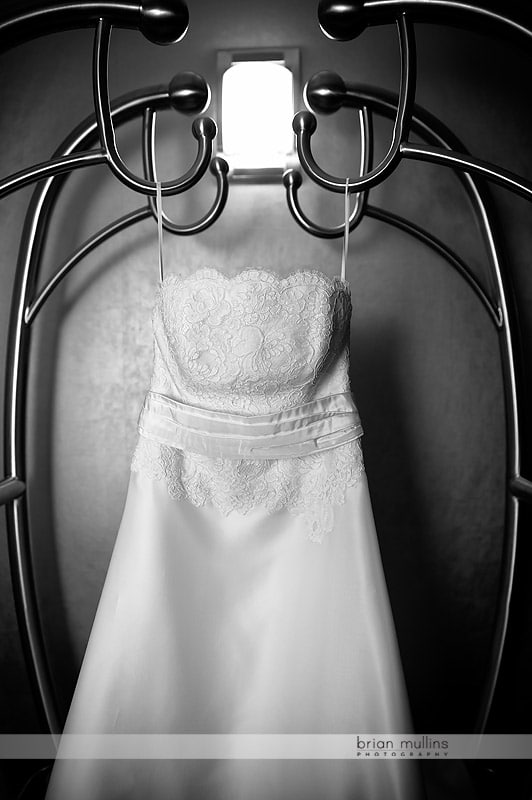 bridal gown at the embassy suites
