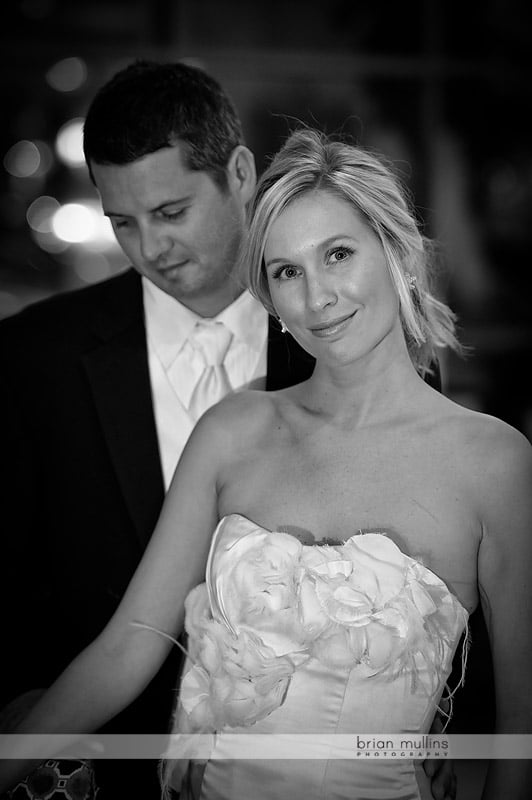contemporary wedding portrait