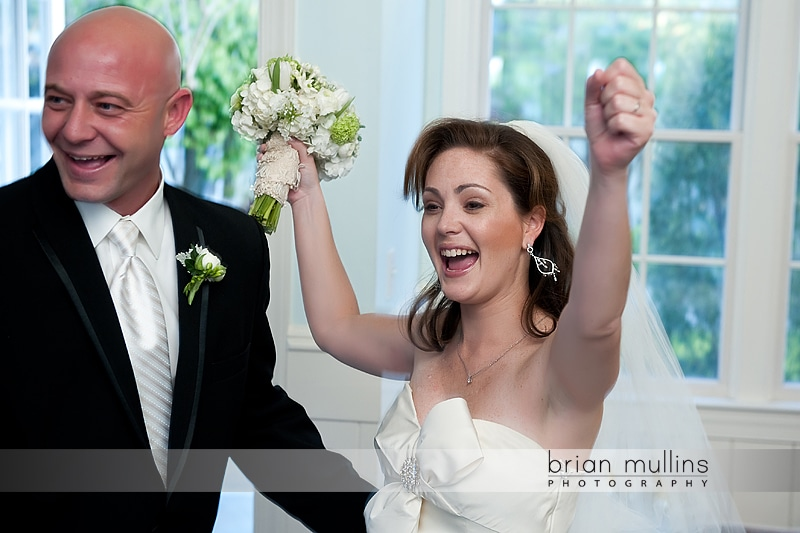 celebrating after fearrington village wedding