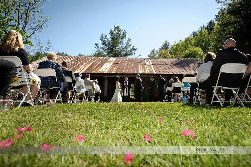 mast farm inn wedding