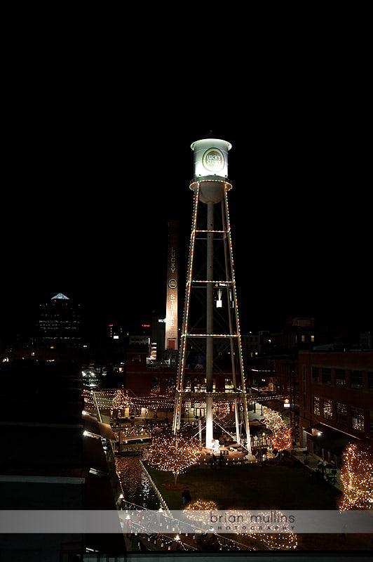 durham NC water tower