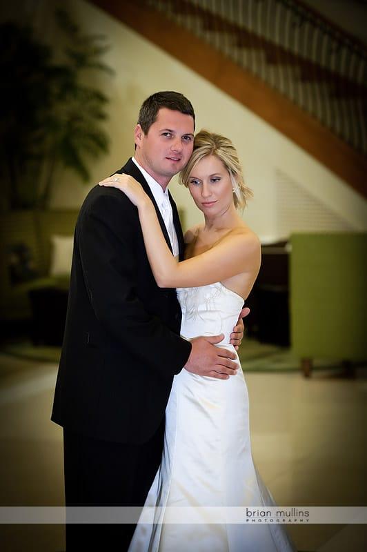 contemporary wedding portraits
