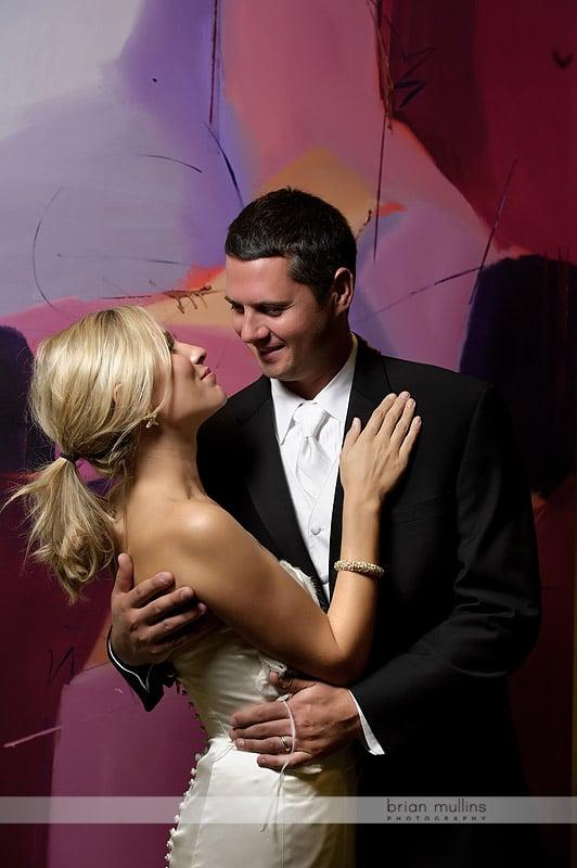 contemporary wedding photos