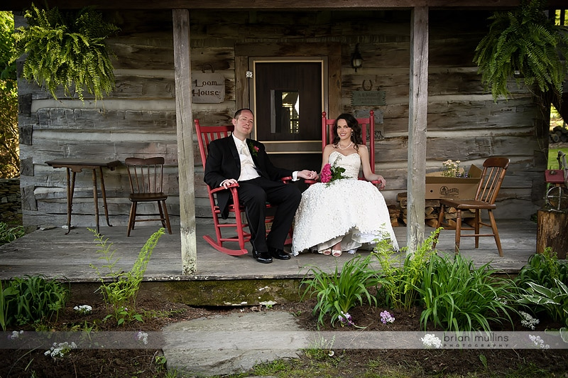 mast farm inn wedding picture
