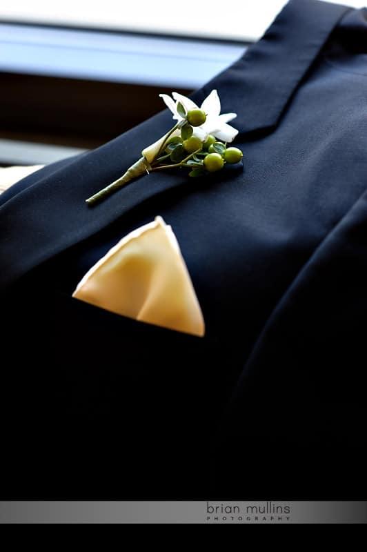 grooms hankerchief