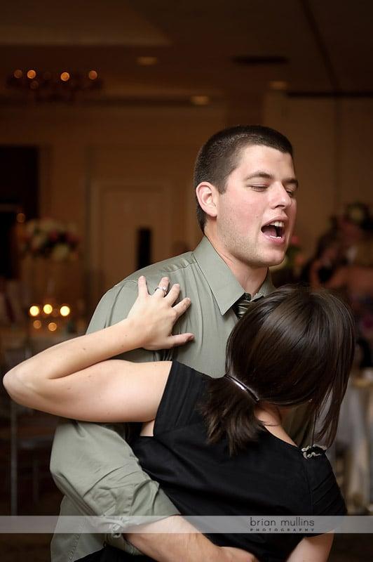 dancing at brier creek country club wedding
