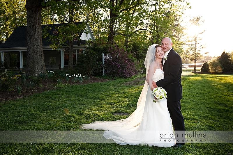 wedding portrait at Fearrington