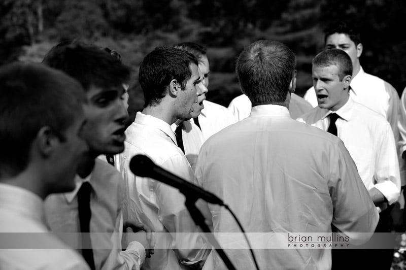 acapella wedding singers