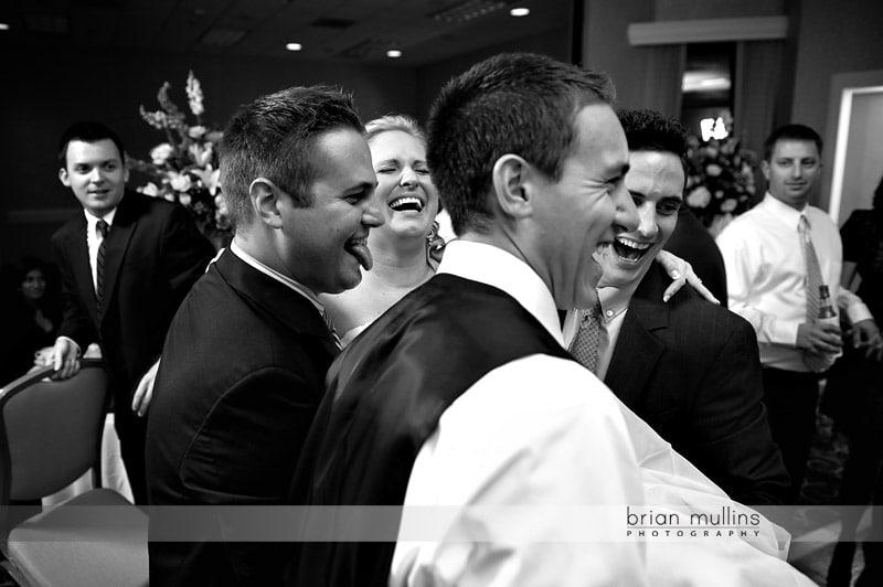 wedding reception at crabtree valley mall
