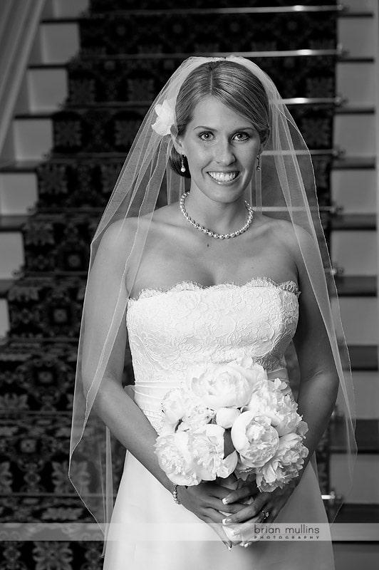 wedding day brides portrait