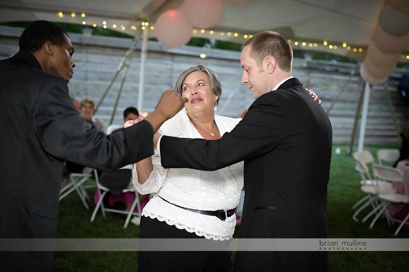 fun parent dance at wedding