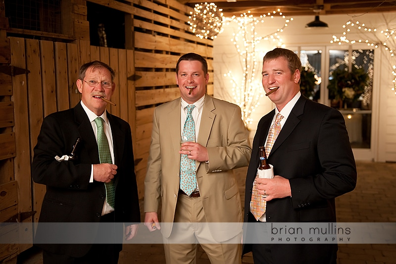 fearrington barn wedding reception