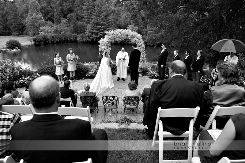 backyard wedding in winston-salem