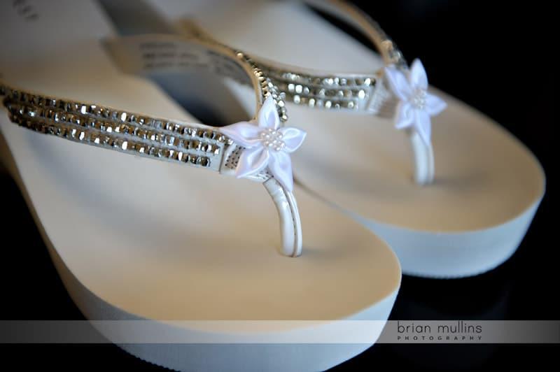 bridal flipflops