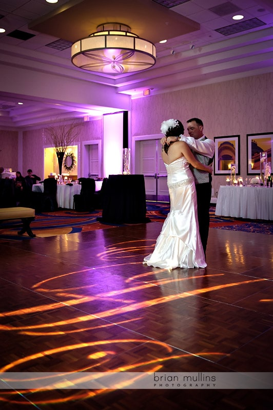 wedding dance floor gobo