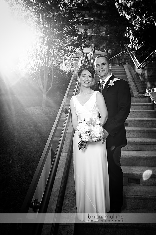 wedding portrait at the umstead hotel