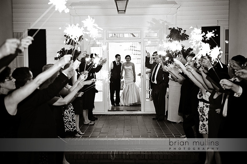 sparkler exit at the Highgrove