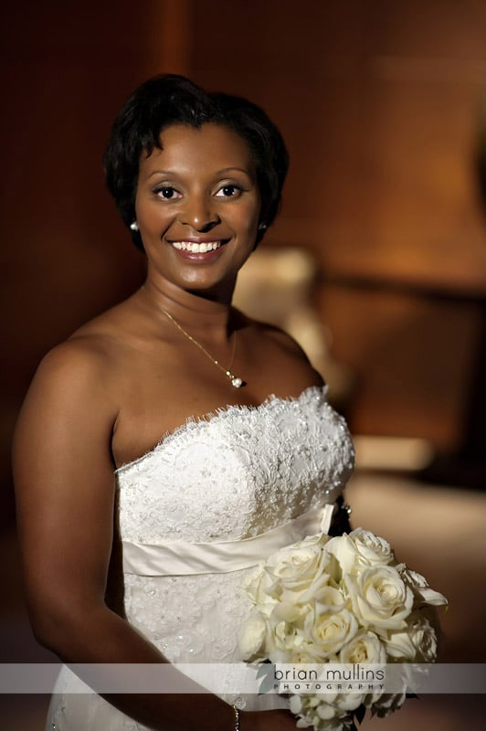 umstead bridal portrait