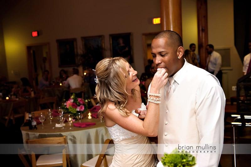 doris duke center wedding reception