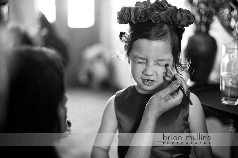flowergirl makeup