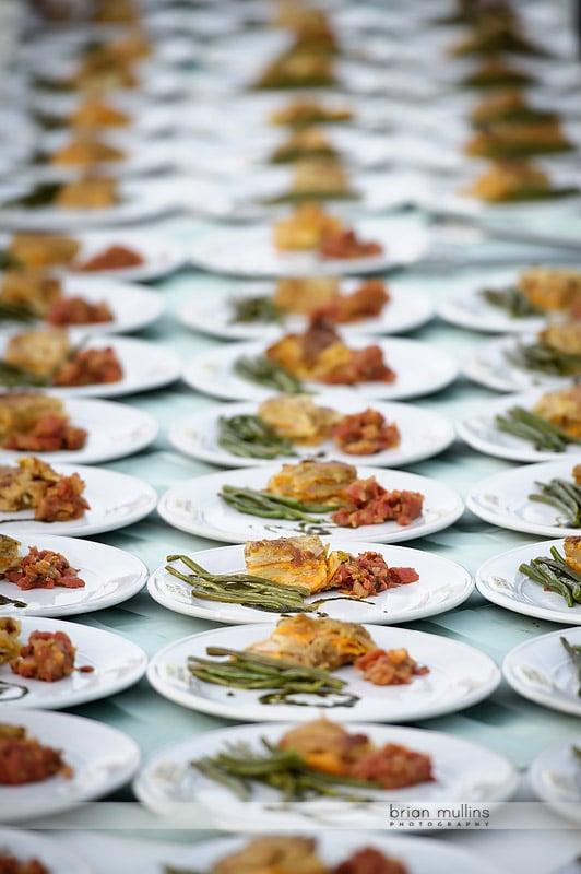 mast farm inn wedding catering