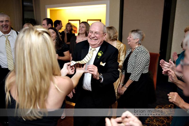 reception at crabtree valley marriott