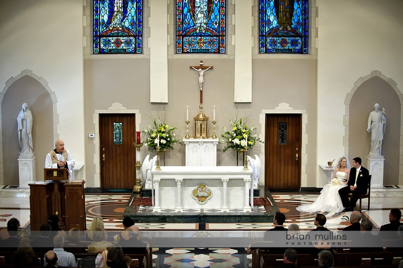 wedding at sacred heart cathedral