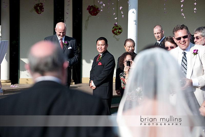 wedding at Preston Woodall House