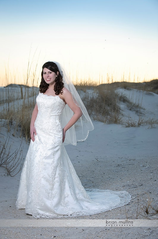 wrightsville beach bridal portrait
