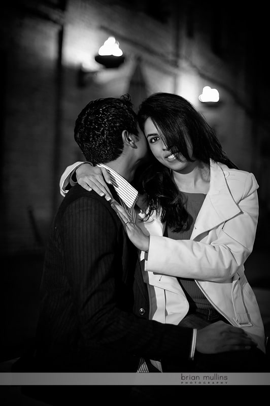 engagement sessions at night