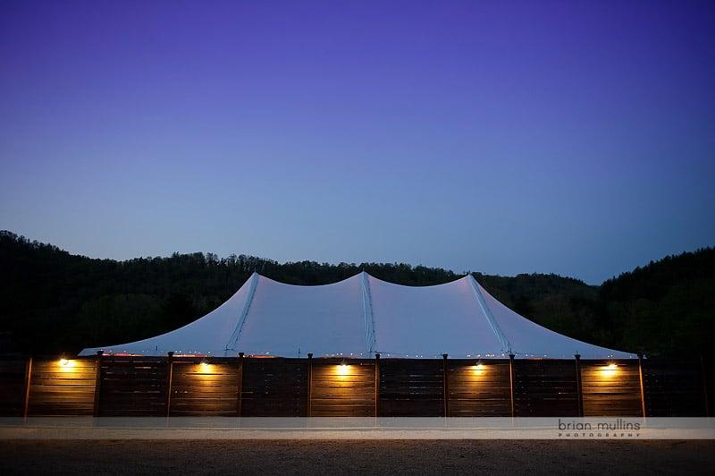 mast farm inn tent