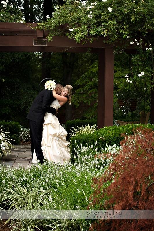 photos from Duke Gardens Wedding