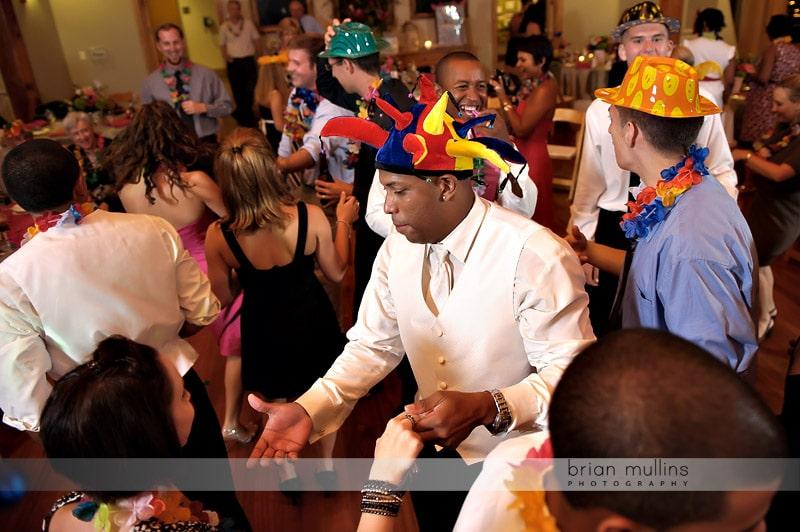 latin wedding dancing