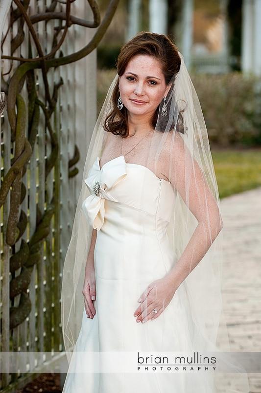 Fearrington Village Bridal Portrait