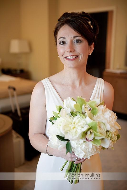 umstead hotel wedding bridal portrait