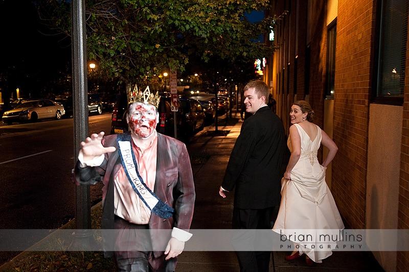 Halloween wedding in Raleigh NC